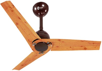 Orient JOAN 48 INCHES 3 Blade Ceiling Fan(Peppy Red, Pack Of 3)