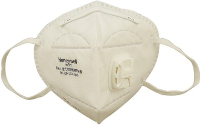 Honeywell Foldable Anti Pollution Pack of 5, D7051V with Valve Mask and Respirator