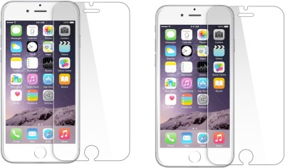 Bodoma Tempered Glass Guard for Apple iphone 6 plus pack of 2 glass(Pack of 2)