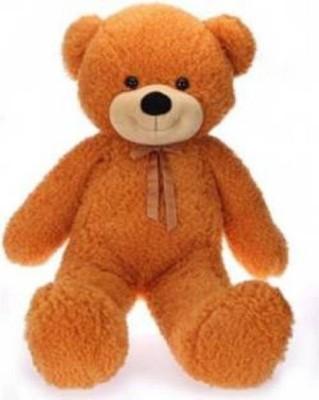 ToyHub 4 Feet Teddy Bear For Gift   122 cm Brown ToyHub Soft Toys