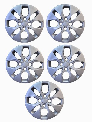 MKG High Quality Wheel Cover Pack of 5 Wheel Cover For Hyundai Xcent(35.56 cm)