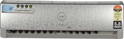 Godrej 1 Ton 5 Star BEE Rating 2018 Inverter AC  - Silver(GSC 12 FIXH 7 GGPG, Aluminium Condenser)