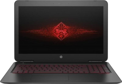 HP OMEN Core i7 7th Gen - (8 GB/1 TB HDD/128 GB SSD/Windows 10 Home/4 GB Graphics/NVIDIA Geforce GTX 1050Ti) 15-ax252TX Gaming Laptop(15.6 inch, Black, 2.20 kg, With MS Office)