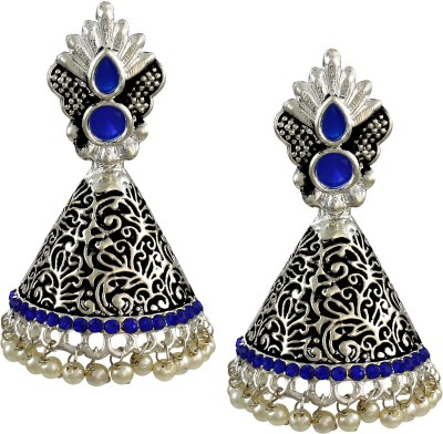 Zaveri Pearls Traditional Zinc Jhumki Earring at flipkart