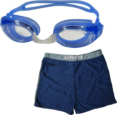 Golddust Swimming Goggles with Swim Shorts Swimming Kit