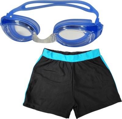 Golddust Swimming Goggles with Kids Swim Shorts Swimming Kit