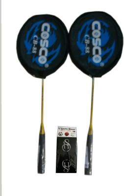 Cosco cb   88 Multicolor Strung Badminton Racquet Pack of: 2, 280 g Cosco Badminton Racquet