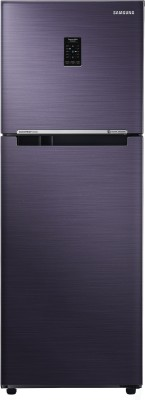 Samsung 253 L Frost Free Double Door Refrigerator(Pebble Blue, RT28K3723UT/NL/RT28K3723UT/HL)