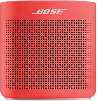 Bose SoundLink Color Bluetooth Speaker II Portable Bluetooth Speaker(Coral Red, Mono Channel)