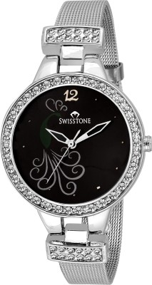 SWISSTONE SWSS209-BLK-CH  Analog Watch For Women