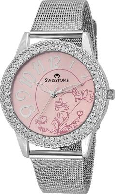 SWISSTONE VOGLR119-PNK-CH  Analog Watch For Women