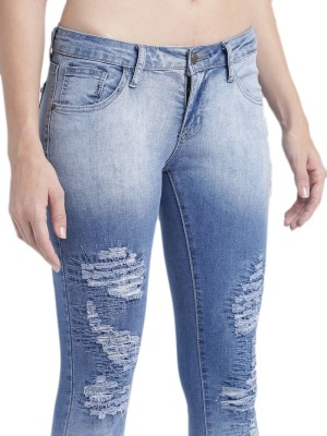 Roadster Slim Women Blue Jeans at flipkart