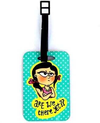 Ashvita Design Studio Are We There Luggage Tag(Multicolor)