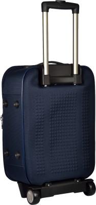 TREKKER TTB CRETA24 BLU Expandable Check in Luggage   24 inch TREKKER Suitcases