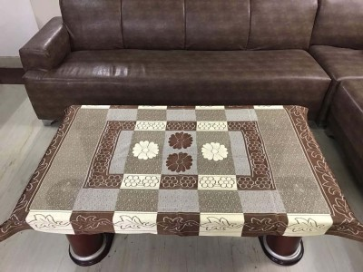 Style Your Home Printed 4 Seater Table Cover(Coffee, Polyester) at flipkart