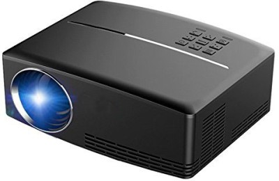 ViviBright Vivibright GP80 Mini 800*480 Pixel with HDMI/USB/VGA 1800 lm LED Corded Portable Projector(Black) at flipkart