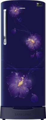 Samsung 192 L Direct Cool Single Door 4 Star Refrigerator(Rose Mallow Blue, RR20M282YU3/NL,RR20M182YU3/HL)