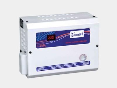 Bluebird 4kVA 170 270V Aluminium Digital Voltage Stabilizer White and Blue