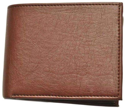 Sky Marketings Men Tan Artificial Leather Wallet(5 Card Slots)