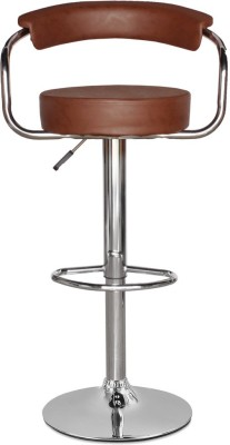 RF Bar Stool Metal Bar Chair(Finish Color - Black)