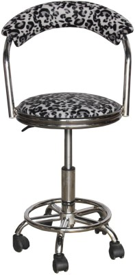 Woodness Metal Bar Chair(Finish Color - Silver)