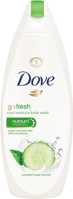 Dove Go Fresh Nutrium Moisture with Cucumber & Green Tea, 500 ml