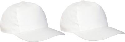 Promoworks Solid Baseball Cap(Pack of 2)