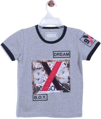 Chimprala Boys Printed Cotton T Shirt(Green 2ff70357fcb0e