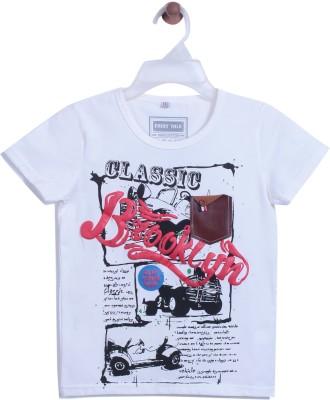 Chimprala Boys Printed Cotton T Shirt(White 093a83ff57d78