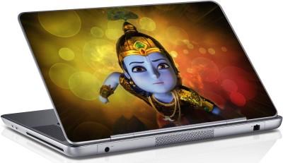 sai enterprises Cute-lord-Krishna-happy-janmashtami vinyl Laptop Decal 15 6