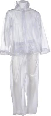 Civil Outfitters Solid Men & Women Raincoat