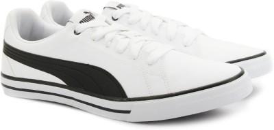 37% OFF on Puma Court Point Vulc v2 IDP Sneakers For Men(White) on Flipkart |