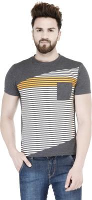 Teesort Printed Men's Round Neck Grey T-Shirt at flipkart