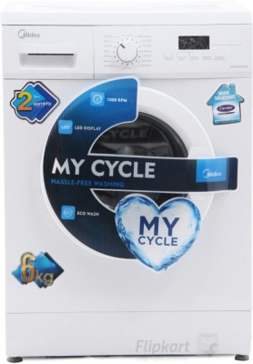 Carrier Midea 6 kg Fully Automatic Front Load Washing Machine(MWMFL060GHN)