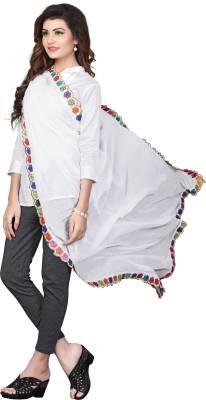 PAGAZO Faux Chiffon Embellished Women's Dupatta