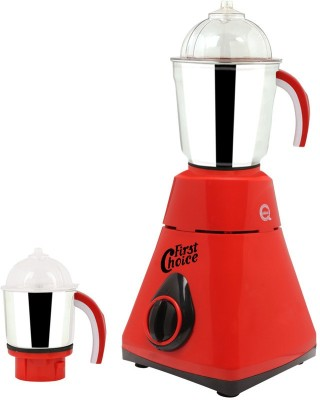 First Choice MG16-232 600 W Mixer Grinder(Red, 2 Jars)