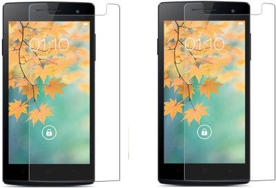 Cowboy Tempered Glass Guard for Oppo find 5 mini(Pack of 2)