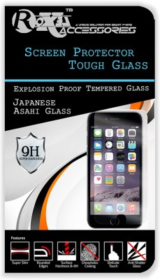 Roxel Tempered Glass Guard for Micromax Canvas Sliver 5 Q450 (Pack Of 2)(Pack of 2)