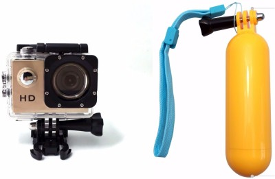 ZVR Powershot Go Pro 1080P Full HD Sports and Action Camera(Gold, 12 MP) at flipkart