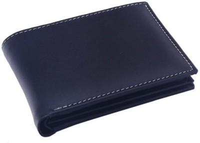 OHM New York Men Black Genuine Leather Wallet(10 Card Slots) at flipkart