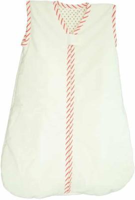 Babies Bloom White Pure Cotton Sleeping Bag(White)