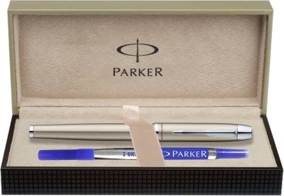 Parker IM Brushed Metal CT Roller Ball Pen  available at flipkart for Rs.1200