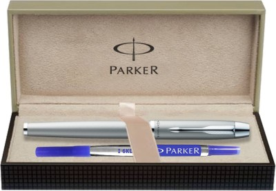 Parker IM Metal Silver CT Roller Ball Pen  available at flipkart for Rs.1120