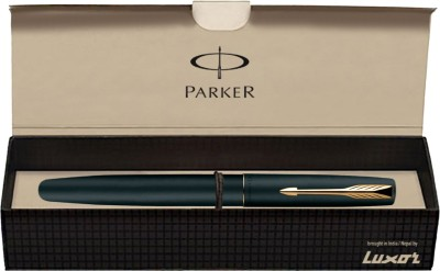 Parker Frontier Matte Black  Gold Nib  GT Fountain Pen