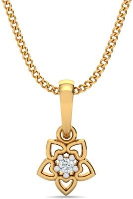 P.N.Gadgil Jewellers Wonder Heart 18kt Diamond Yellow Gold Pendant