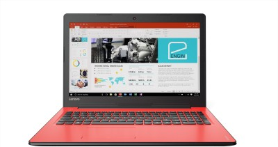Lenovo Ideapad 310 Core i5 7th Gen - (4 GB/1 TB HDD/Windows 10 Home/2 GB Graphics) IP 310-15IKB Notebook(15.6 inch, Flamenco Red, 2.2 kg)