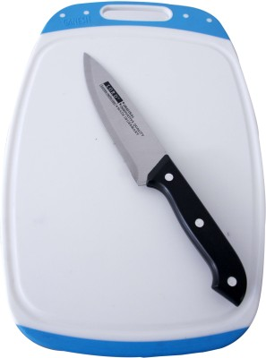 XUDO Vegetable cutting board with knife Multicolor Kitchen Tool Set(vegetable cutter)  available at flipkart for Rs.314