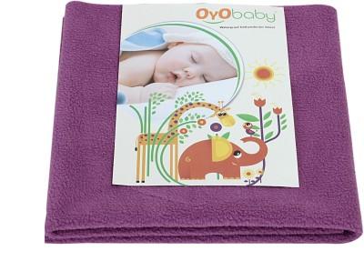 Oyo Baby Cotton Changing Mat Baby Care Sheet(Pink, Medium)