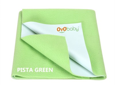 Oyo Baby Cotton Changing Mat Baby Care Sheet(Light Green, Small)