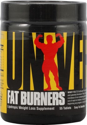 Universal Nutrition Fat Burner (55 Capsules) Unflavoured